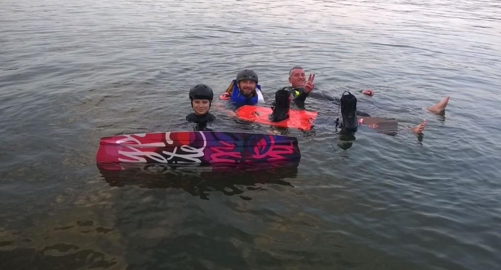 Wakeboarding v neoprenu