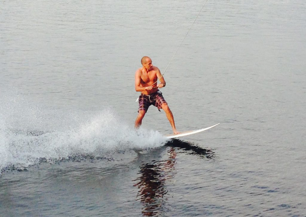 Pavel Trčala surf prkno.
